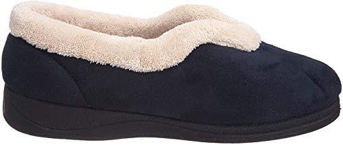 Padders 417 - Zapatillas de casa para mujer, color azul, talla 35.5