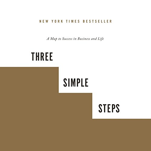 Three Simple Steps audiobook cover art