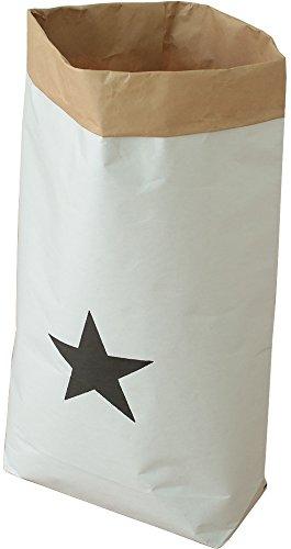 オスマック ランドリー収納 星 約W49×D15×H80cm
