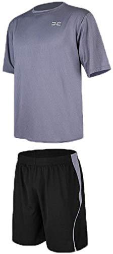 WYYH Homme De Sport Outdoor Quick Dry Short Sleeved T-Shirt, Football T-Shirt Short Jogging RunningBlouse