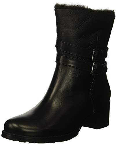 Blondo Women's Fabiana Fashion Boot, Black Leather, 10 W US