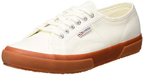Superga 2750 Classic Unisex Sneakers , Weiß (White Gum), 40 EU