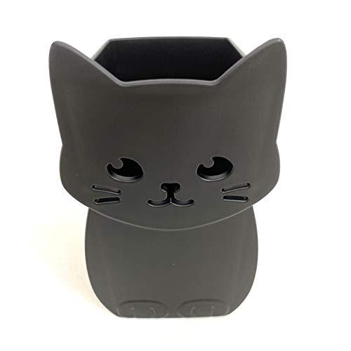 Carino gatto forma matita titolare (nero) importazione Giappone