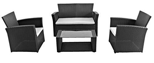 Tarrington House Sofa-Set Brantford, Rattan, Stahl, Polyethylen (PE)