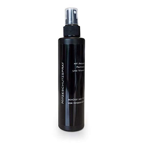 Spray de protection contre la chaleur avec huile d'argan, panthénol, vitamine E, 200 ml, huile d'argan, protection contre la chaleur pour extensions c