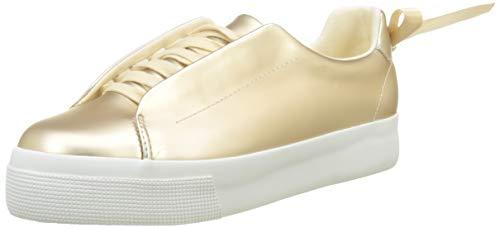Superga 2730-HIDDENCLOSESYNTPEARLEDW, Zapatillas para Mujer, Dorado (Platinum 974), 39 EU