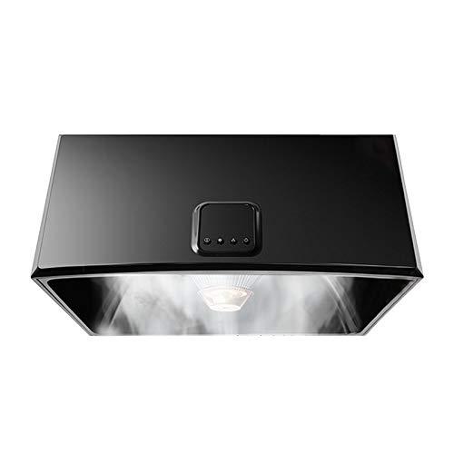 SXYY Dunstabzugshaube, 710 mm Kleiner Haushalt 16 M³ / Min Dunstabzugshaube Klassischer Mechanischer Knopf 330 Pa Glatter Abluftdruck LED-Licht Weiche Beleuchtung Starker Netzfilter