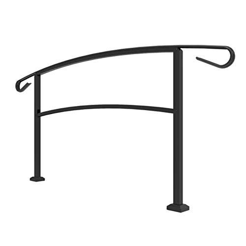 Railing Now - Canyon Transitional Handrail (Black)
