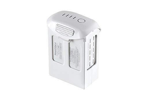 DJI High Capacity Phantom 4 Series P4-Intelligent Flight Battery, White (CP.PT.000601) (Renewed)