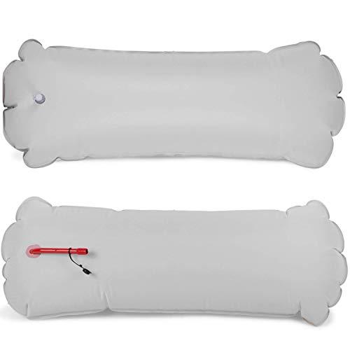 Auftriebskörper für Optimist Jolle PVC o. Nylon 41 x 100 cm Grau aufblasbar Kanu Kajak Spitzenbeutel Boot Größe PVC