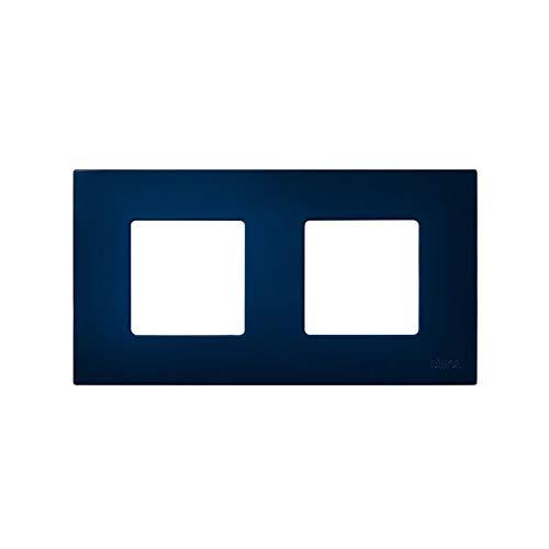 Simon 2700627-064 - Funda 2 Elementos Azul