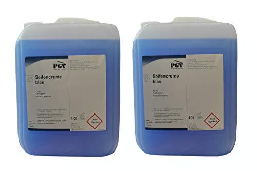 Seife - BLAU - Cremeseife Seifencreme Flüssigseife 10 Liter (2 x 10 Liter)