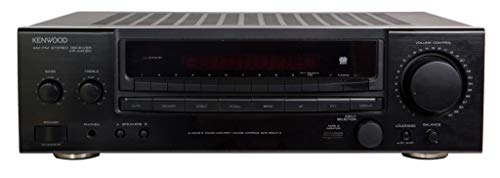 Kenwood KR-A4060 Stereo AM-FM Receiver in schwarz