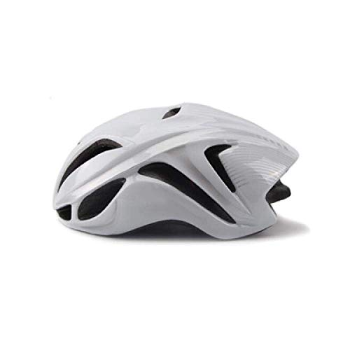 YXDEW Road Racing Triathlon Aero Cycling Helmet City Mtb Mountain Evade Bike Helmet Safety Bicycle Equipment motorcycle (Color : White1)