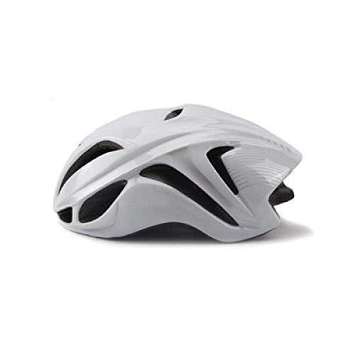 YXDEW Road Racing Triathlon Aero Cycling Helmet City Mtb Mountain Evade Bike Helmet Safety Bicycle Equipment motorcycle (Color : White1)