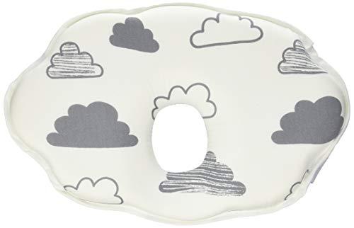 Kikka Boo Almohada ergonómica Memory Foam Nubes - Almohada para bebé