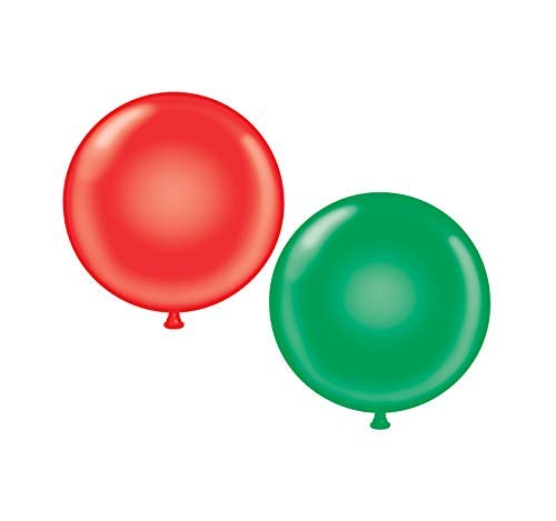Learn More About 60 inch Giant Latex Balloons – Qty 2- (1) Red (1) Green
