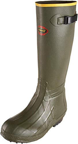 "LaCrosse Men's 18"" Burly Air Grip Hunting Boot,Olive Drab Green,10 M US"