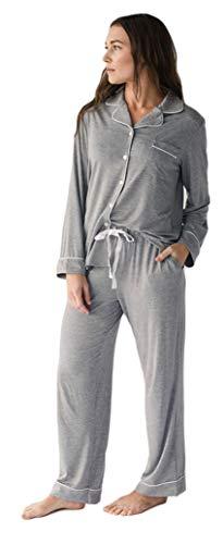 Cozy Earth Stretch-Knit Bamboo Pajama Set...