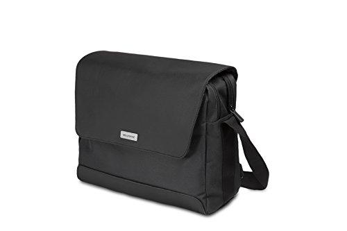 Moleskine Notebooktasche Gerätetasche (für Laptop, Tablett, iPad und Notebook bis 13 Zoll, Maße 38 x 15 x 27 cm) schwarz