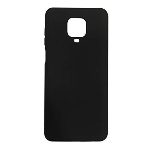 Capa Premium Silicone Touch Incrível Xiaomi Redmi Note 9s / Note 9 Pro (Preto)