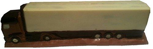 08#061721 Schokolade, VOLLMILCH, Lkw, Sattelschlepper, groß, Spedition, Scania, Volvo, Mercedes, Daf, Geschenk, Trucker,
