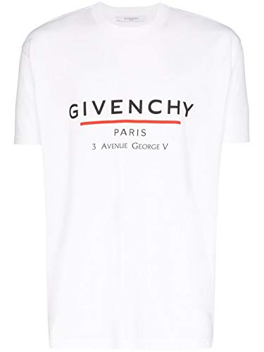 Givenchy Luxury Fashion Herren BM70U23002100 Weiss Baumwolle T-Shirt   Frühling Sommer 20