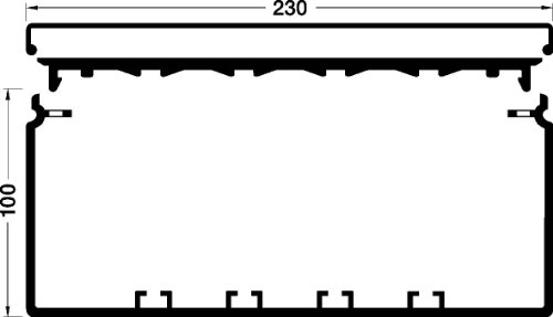 Tehalit Kanal PVC FB 99230 rws