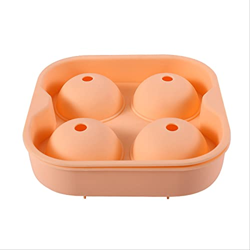 4 Cavity Silicone Ice Cube Mold Ice Cube Maker Flexible Silicone Ice Lolly Mold Kitchen Gadgets And Accessories, Bpa Free