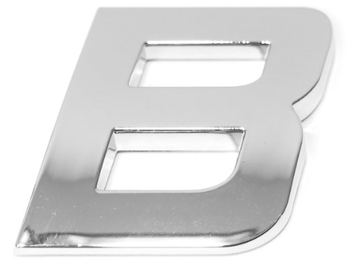Eufab 30312 3d-letter B Car-logo