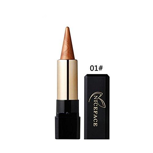 Fards à paupières,OVERMAL Eyeshadow Ombre à PaupièRes L'Oeil De L'Eye - Liner CrèMe Beauté Waterproof Crayon Crayon De Maquillage Gel Ligne De Maquillage (I)