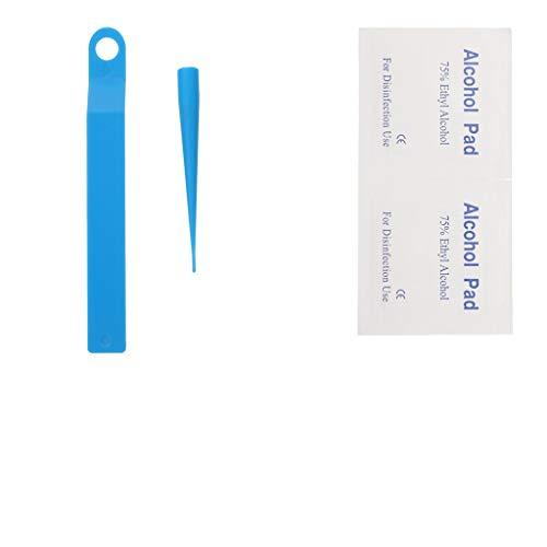 HEALLILY Skin Tag Remover Skin Tag Removal Kit with 50pcs Skin Tag Repair Patches Skin Tag Remover Kit for Medium to Large Skin Tag