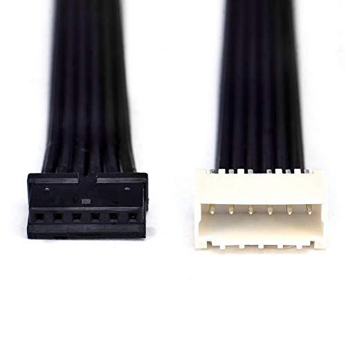 Cable de extensión de caja de control | para Philips Hue Lightstrip Plus V4 | hasta 10 m (6 m, negro plano)