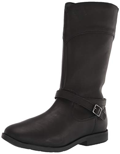 Stride Rite Girls Classic Fashion Boot, BLACK, 13.5 Little Kid