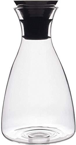 Tetera de cristal Tapa Tetera de cristal Hervidor garrafas con el acero inoxidable pueden lavar en lavavajillas Jarra de vidrio de gran capacidad de la botella de agua fría - 100% BPA juego de té