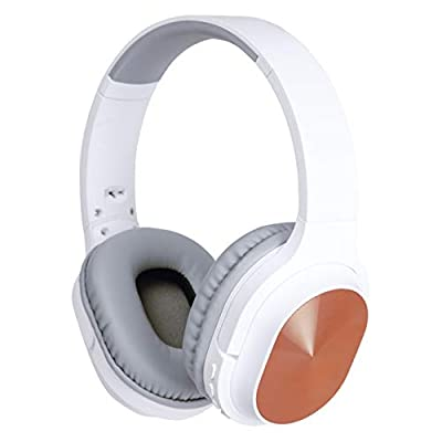 Daewoo Foldable Bluetooth Wireless Headphones - Music & Phone use - 10m Bluetooth Range - Up To 5 Hours Play Time - MP3 Aux-In TF FM - 80hrs Standby - 300mAh Rechargeable Battery, Size Size OSFM