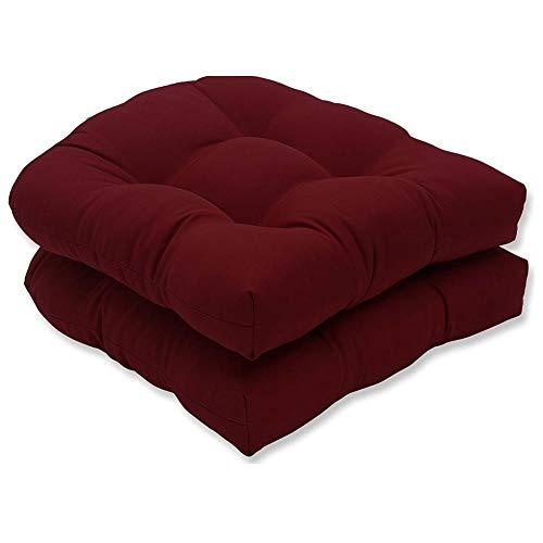 Pictury, 2 cuscini per sedia, divano, poltrona a sdraio, morbidi e confortevoli, per il giardino Vinaccia