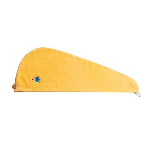 junfeng Toalla de Pelo seco Tapa de Secado del Cabello Súper Absorbente Ducha de Secado rápido Tapa de Pelo seco Toalla de champú Paquete de Toalla Turbante (Color : 1)