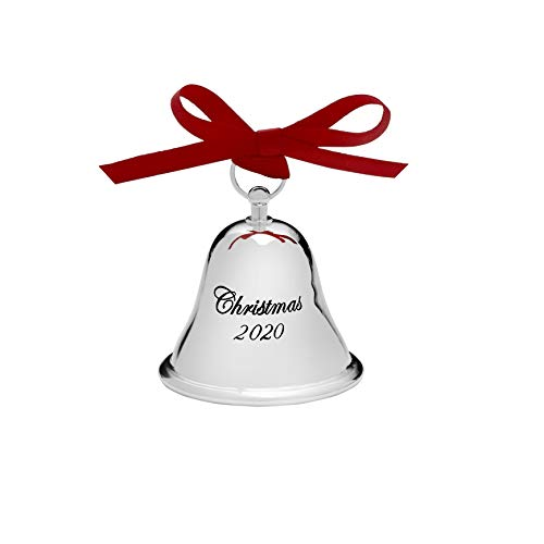 "Gorham 2020 1st Edition Christmas Bell Ornament, Engraved 2.5"" -  Gorham LB, 5271670"