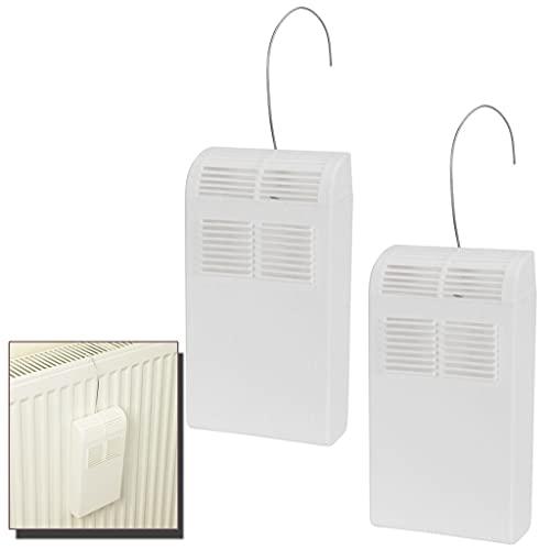 EliteKoopers 2 unids plástico radiador humidificador habitación colgante aire seco control humedad humedad