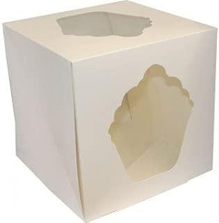 Caja grande para cupcakes blanca (255 x 255 x 255 mm)
