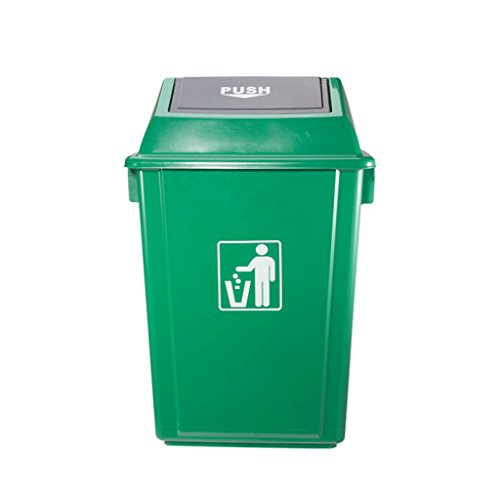 For Sale! LXF Outdoor Waste Bins Outdoor Trash can Plastic Sanitation Trash can Property Park Outdoo...