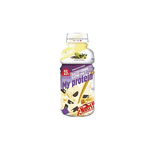 Nutrisport My Protein 330 Ml 12 Botellas Vainilla 330 ml