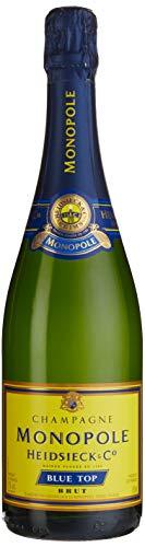 Heidsieck Monopole Champagne BLUE TOP Brut 12,5{f5875aff6109c361fdc856af295727ef8e21af907d08f120c1b1aa36c1c7fb62} Volume 0,75l Champagner