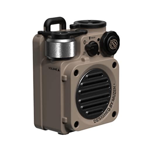 muzen(ミューゼン) WILD MINI(ワイルドミニ)Bluetoothスピーカー 防水IPX5 (Desert yellow)