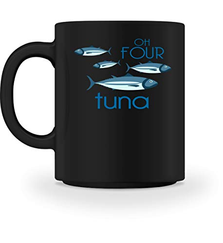 Chorchester Oh Four Tuna O Fortuna voor muziek nerds - mok