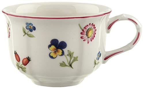 Villeroy & Boch Petite Fleur Teetasse, 200 ml, Höhe: 6 cm, Premium Porzellan, Bunt
