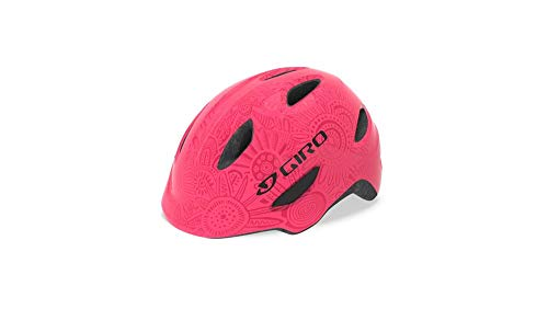 Giro Unisex Jugend Scamp MIPS Fahrradhelm Youth, Bright pink/Pearl, S