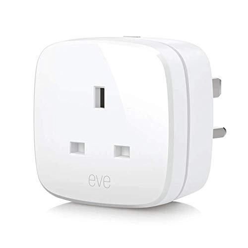 Elgato Eve Energy (UK) - Interruttore e misuratore di potenza, con tecnologia Apple HomeKit, Bluetooth a basso consumo