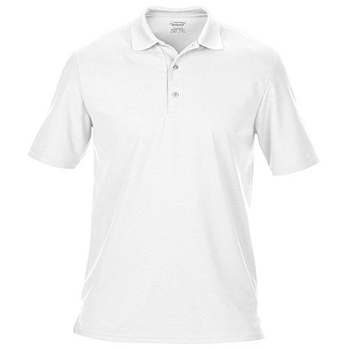 Gildan - Polo à Manches Courtes - Homme (2XL) (Blanc)